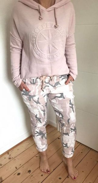 Jogger CAMOUFLAGE rose